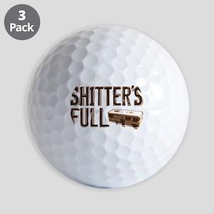 Shitter's Full Golf Balls