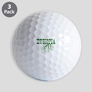 Ethiopia Roots Golf Balls