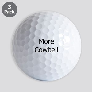 More Cowbell Golf Balls
