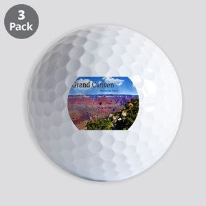 Grand Canyon NAtional Park Poster Golf Balls