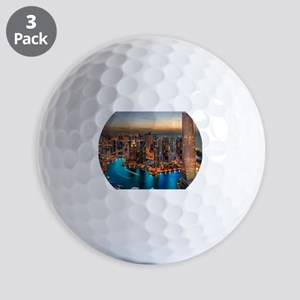 Dubai Skyline Golf Balls