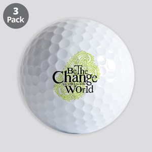 Paisley Green - Be the change Golf Balls
