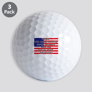 Armed security Golf Balls