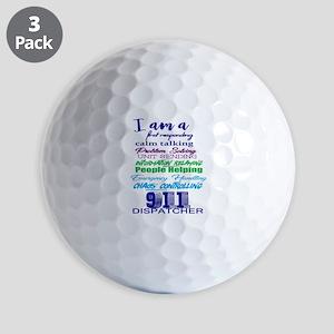 911 DISPATCHER Golf Balls
