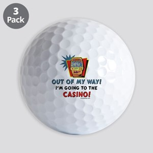Out of My Way Casino! Golf Balls