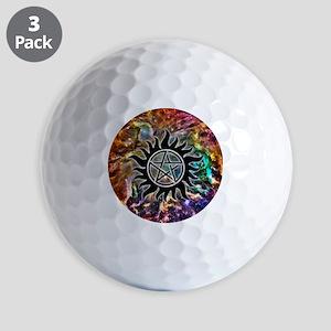 Supernatural Cosmos Golf Balls