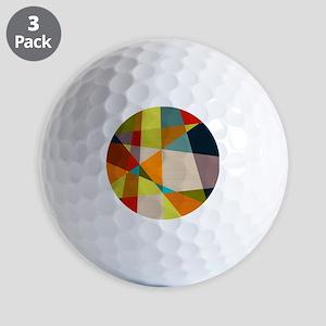 Mid Century Modern Geometric Golf Balls