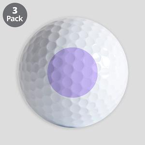 girly modern lilac purple Golf Balls