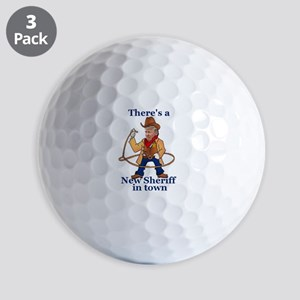 Trump New Sheriff 2017 Golf Balls