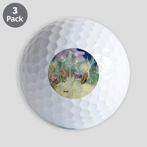 The Fairy Circus007_SQ Golf Balls