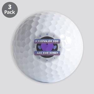 I Think of You All the Time Golf Balls
