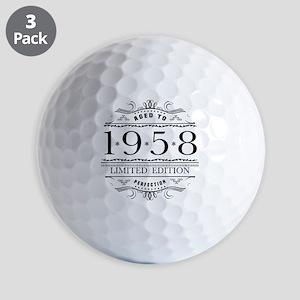 1958 Classic Birthday Golf Balls