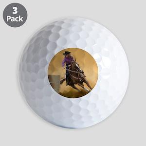 barrel racing pillow Golf Balls