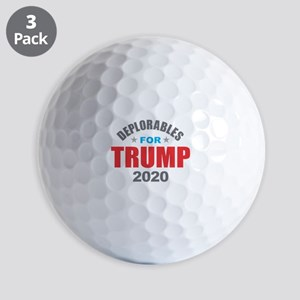 Deplorables for Trump 2020 Golf Balls