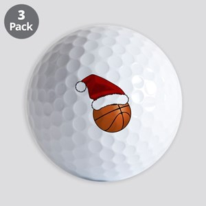 Christmas Basketball Golf Balls