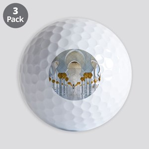Mosque in Abu Dhabi - Golf Balls