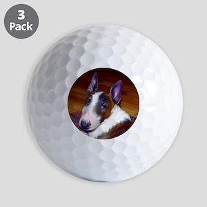 bullterrier-sq Golf Balls
