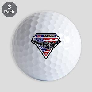 b2_bomber_spirit Golf Balls