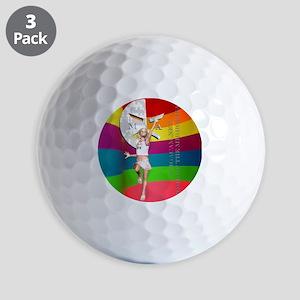 Cammie20ColorBrightShirt Golf Balls