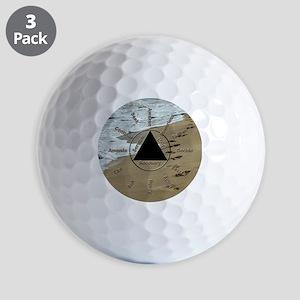 AAClock Golf Balls