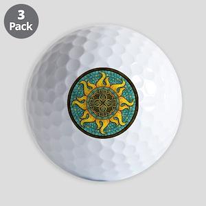 Mosaic Sun Golf Balls