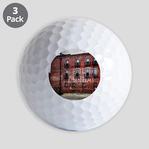 Coca-Cola Ghost Sign Golf Balls
