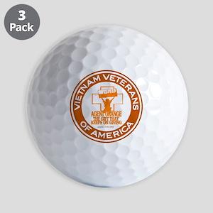 VVA Orange Golf Balls