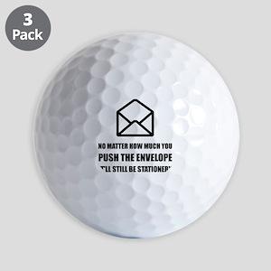 Envelope Stationery Golf Ball