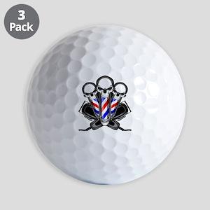 Barber Skulls Golf Ball