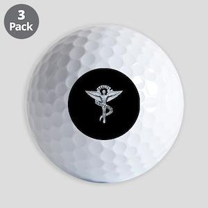 Chiropractor / Chiropractic Emblem Golf Ball
