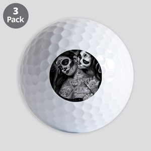 Dia De Los Muertos Golf Balls