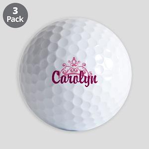 Princess Crown Personalize Golf Ball
