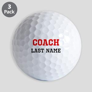 Coach Golf Ball