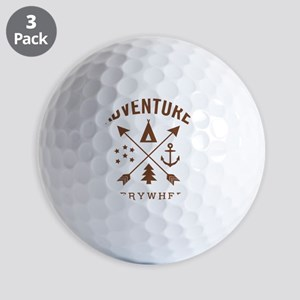 ADVENTURE EVERYWHERE Golf Ball