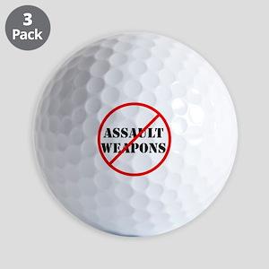 No assault weapons, gun control Golf Ball