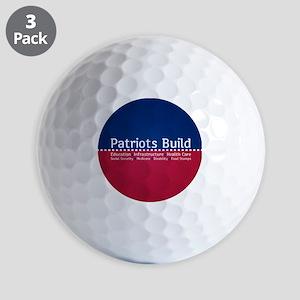 Patriots Build Golf Ball
