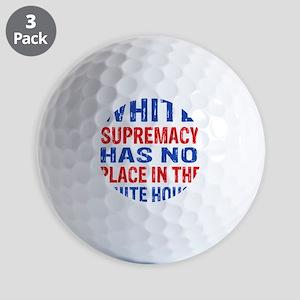 Anti Trump designs Golf Balls