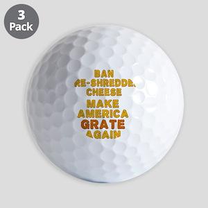 Make America Grate Again Golf Balls