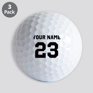 Customize sports jersey number Golf Balls