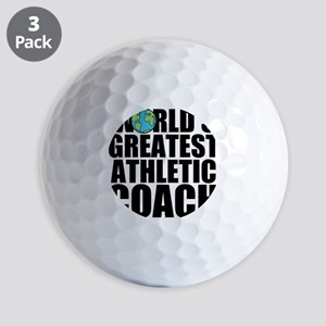 World's Greatest Athletic Coach Golf Ball