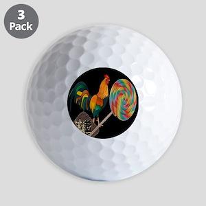Dirty Cock Sucker humor Golf Ball