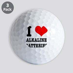 ALKALINE BATTERIES Golf Ball