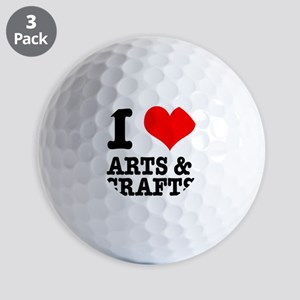 ARTS CRAFTS Golf Ball