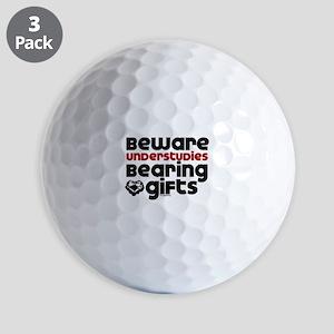 Understudies Golf Balls