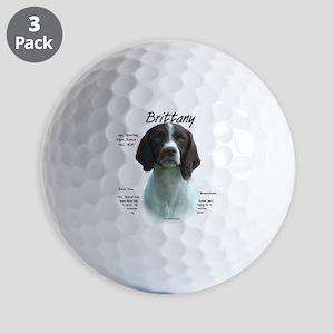 Brittany (liver) Golf Balls