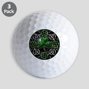 St. Patrick's Day Celtic Knot Golf Balls