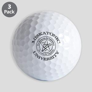 Miskatonic University Golf Balls