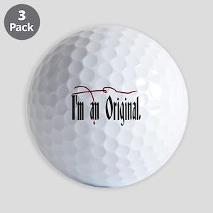I'm an Original/Vampire Diaries Golf Balls