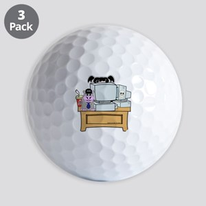 Abby and Bert NCIS Golf Balls