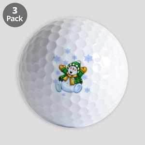 snowman8 Golf Balls